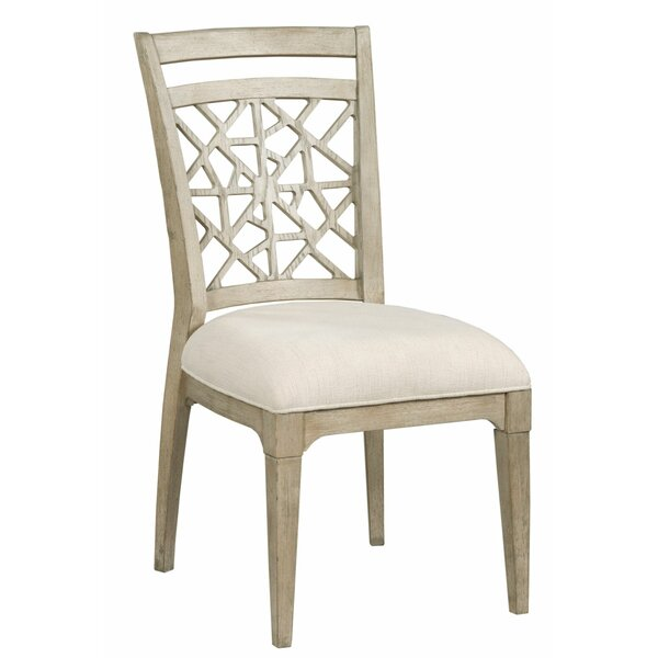 Rodgers Upholstered Side Chair in Oyster (Set of 2) by Rosalind Wheeler Rosalind Wheeler