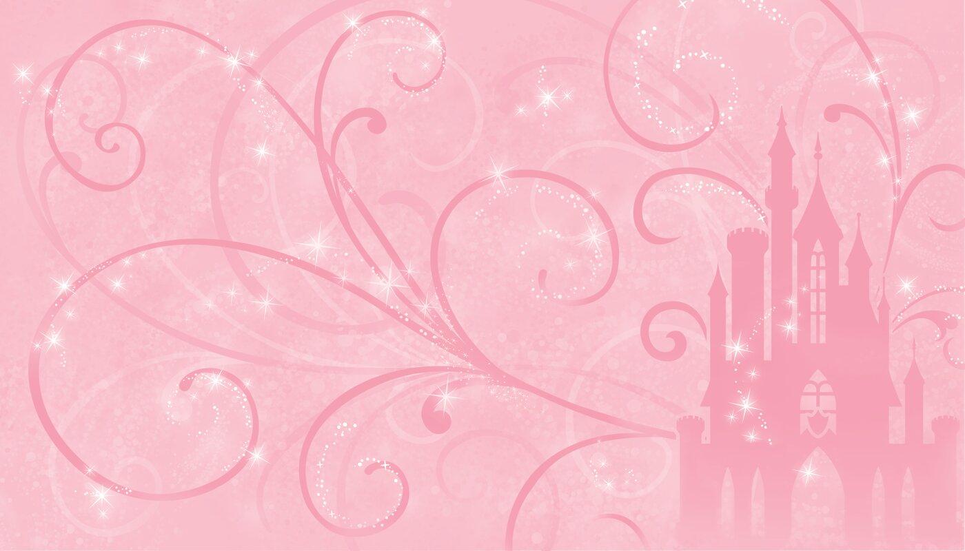 Walt Disney Kids II Princess Scroll Castle 10.5u0027 X 72