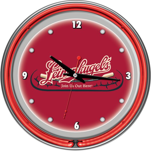 Leinenkugel 14.5 Wall Clock by Trademark Global