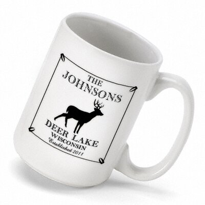 Personalized Gift Cabin Series Coffee Mug by JDS Personalized Gifts