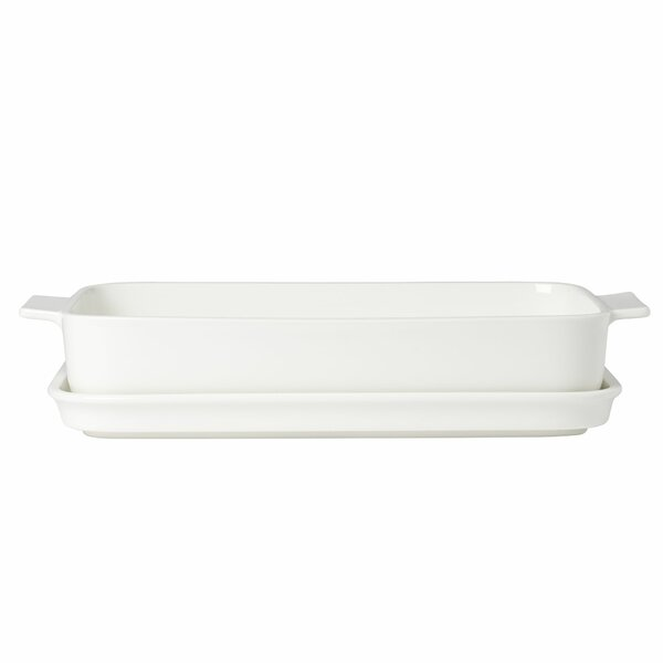 Clever Rectangular Baking Dish with Lid by Villeroy & Boch