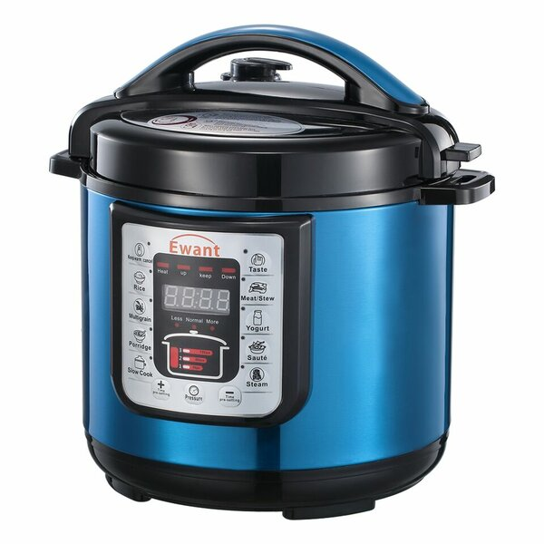 6 Qt. 9-in-1 Multi-Function Pressure Cooker by PDAE Inc.