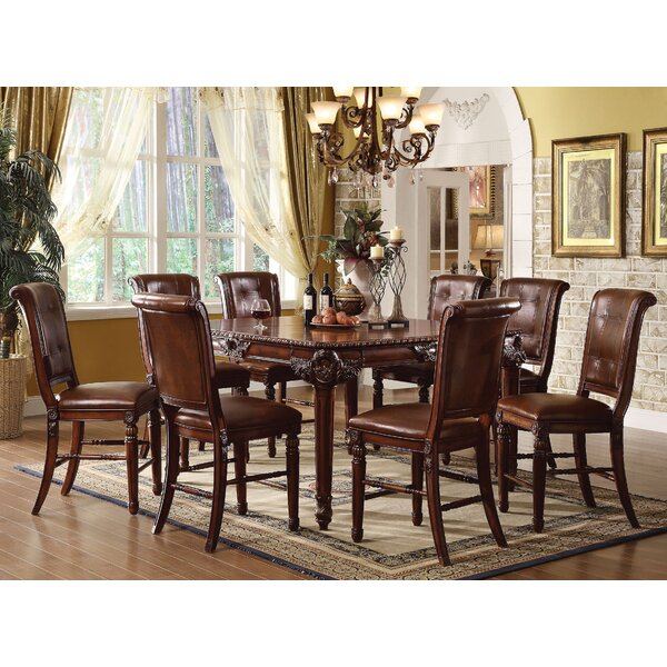 Wendel 9 Piece Extendable Dining Set by Astoria Grand