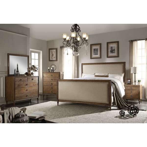Caudell Panel Configurable Bedroom Set by Gracie Oaks