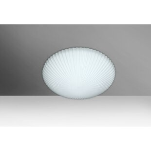 Compare & Buy Katie 1-Light Outdoor Flush Mount By Besa Lighting