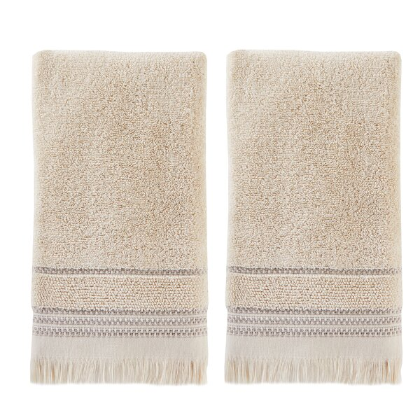 Ismay Cotton Hand Towel (Set of 2) by Charlton Home