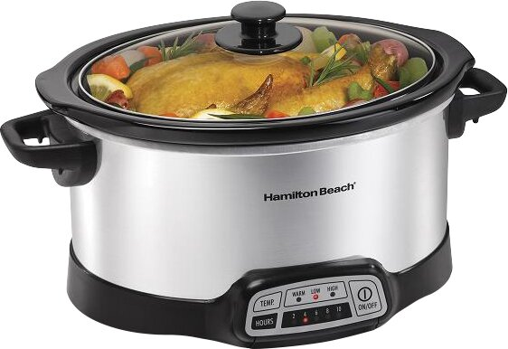 6-Quart Progamable Slow Cooker by Hamilton Beach