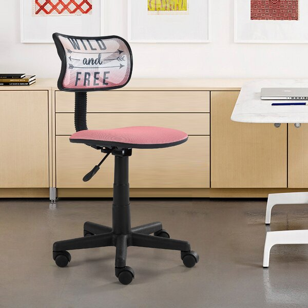 Fickes Wild and Free Mesh Office Chair by Wrought Studio