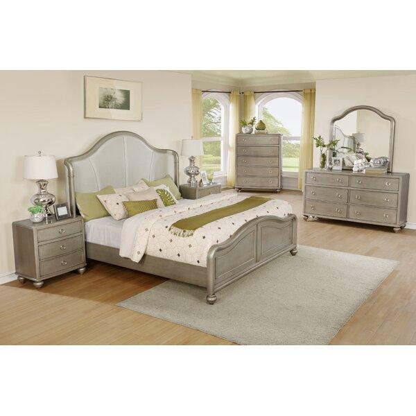 Aiden Platform 6 Piece Bedroom Set by Roundhill Furniture
