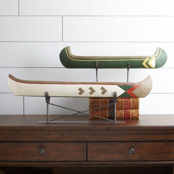 Neil Canoe Figurine by Millwood Pines