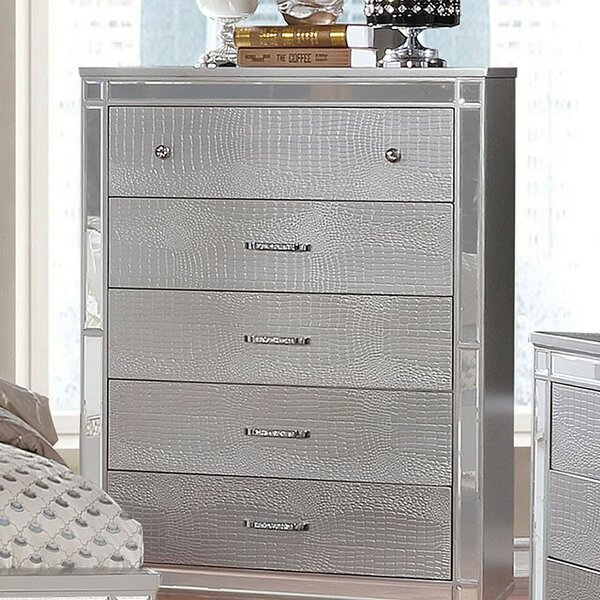 Rothwell 5 Drawer Chest by Everly Quinn