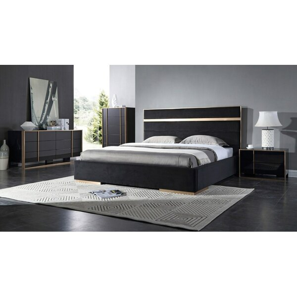 Ayaan Upholstered Platform Bed by Willa Arlo Interiors