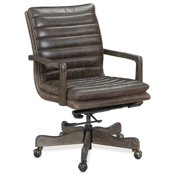 Langston Genuine Leather Office Chair by Hooker Furniture