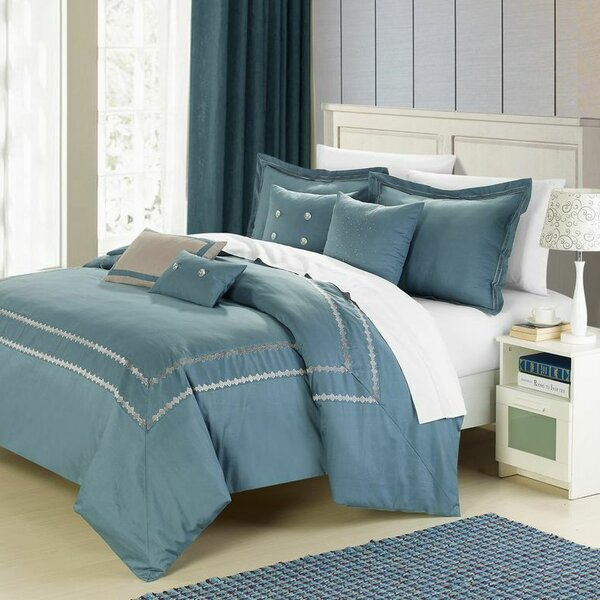 Mandalay 7 Piece Comforter Set by Chic Home