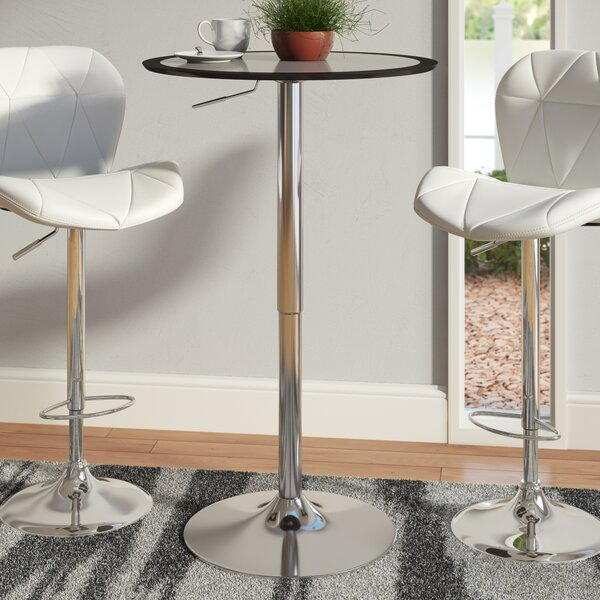 Adjustable Height Pub Table by Wade Logan