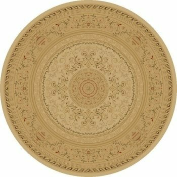 Bissonnette Ivory Savonnerie Area Rug by Charlton Home