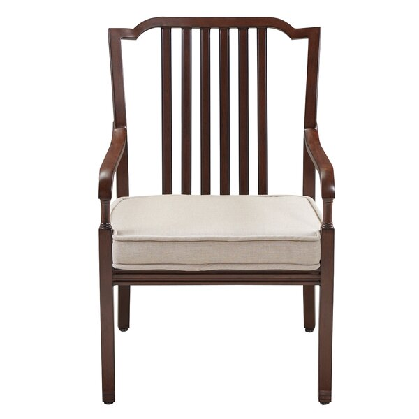 River House Stacking Patio Dining Chair with Cushion (Set of 2) by Paula Deen Home