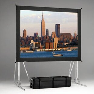 Fast Fold Black Portable Projection Screen Da-Lite