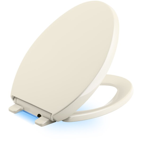 Reveal Nightlight Quiet-Close with Grip-Tight Elongated Toilet Seat by Kohler