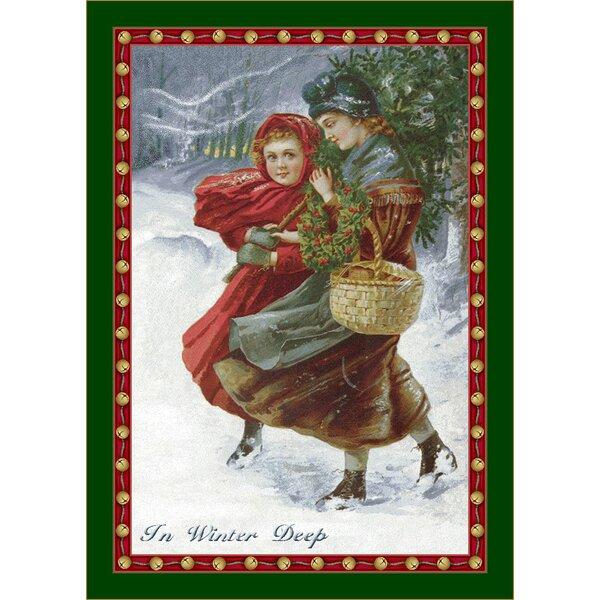 Winter Seasonal Holiday in Winter Deep Area Rug by Milliken
