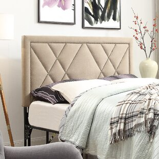 Compare Honore Nailhead Upholstered Headboard ByBrayden Studio