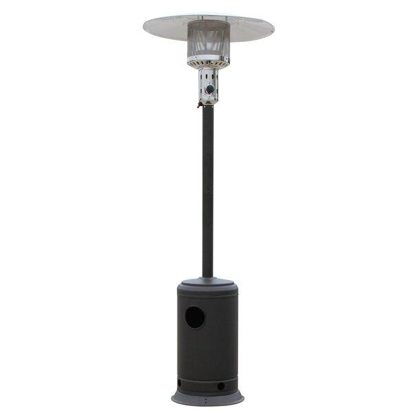 Mocha Standing Patio Heater by HomComfort
