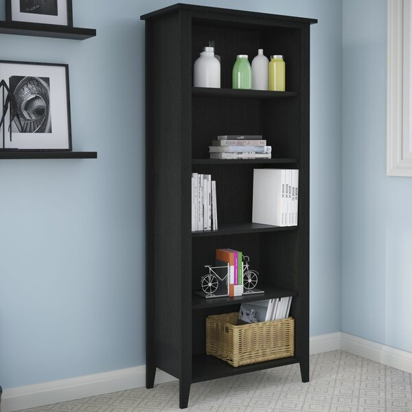 Connecticut 5-Shelf Standard Bookcase by Kathy Ireland Office by Bush