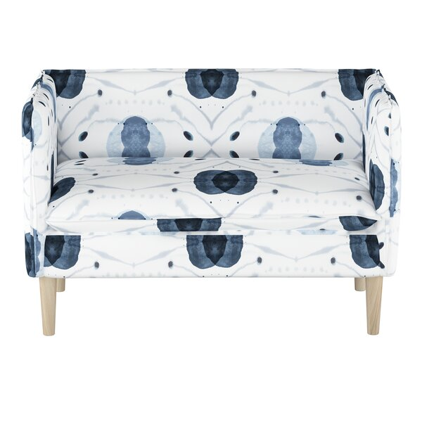 Doyers French Seam Settee by Bungalow Rose