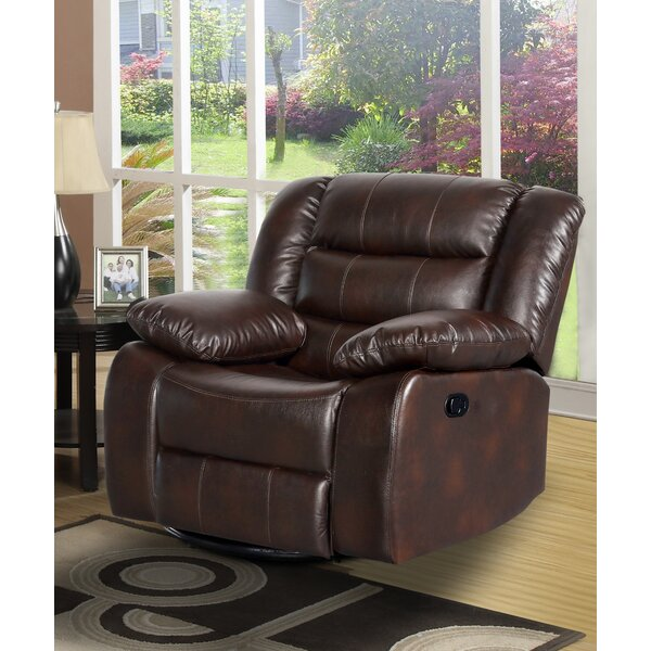 Howard Beach Manual Swivel Recliner [Red Barrel Studio]