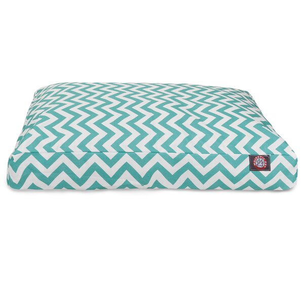 Chevron Rectangle Dog Bed by Majestic Pet Products