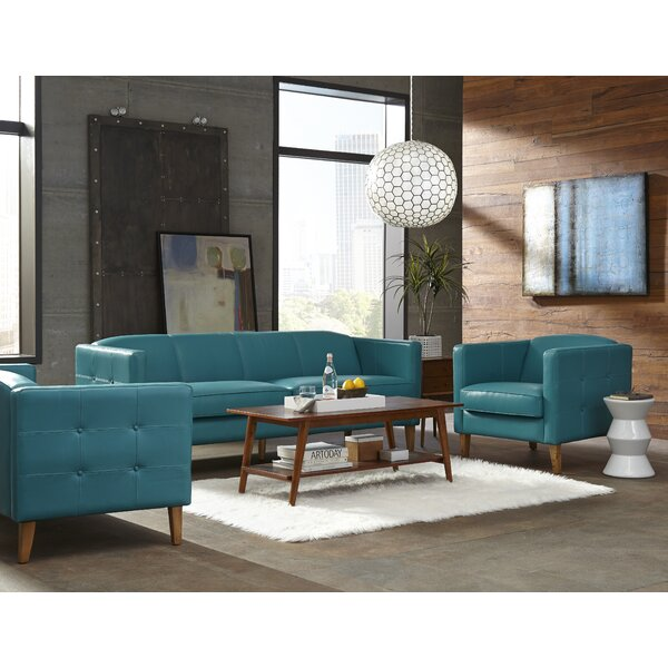 Miami Configurable Living Room Set by Lazzaro Leather
