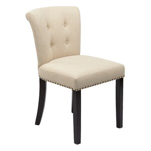 Elvie Traditional Solid Wood Side Chair Willa Arlo Interiors