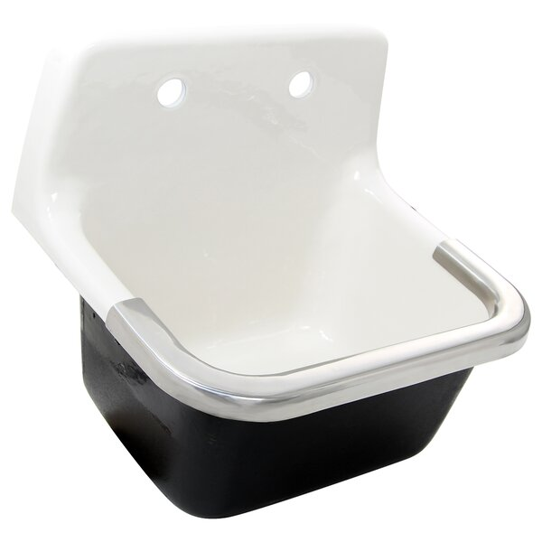 22 x 18 Wall Mounted Service Sink by Nantucket Sinks