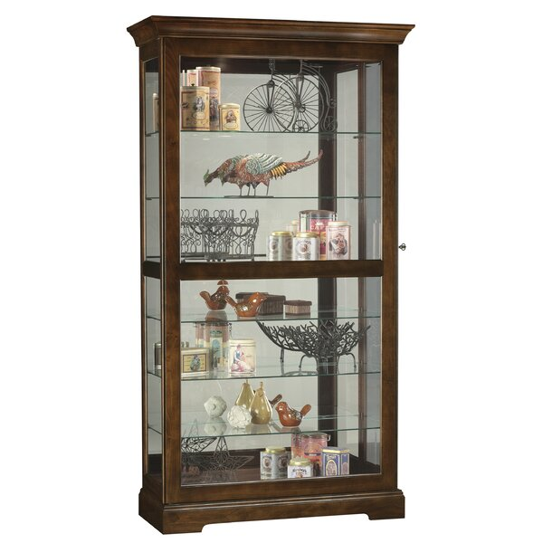 Breed Curio Cabinet by Darby Home Co