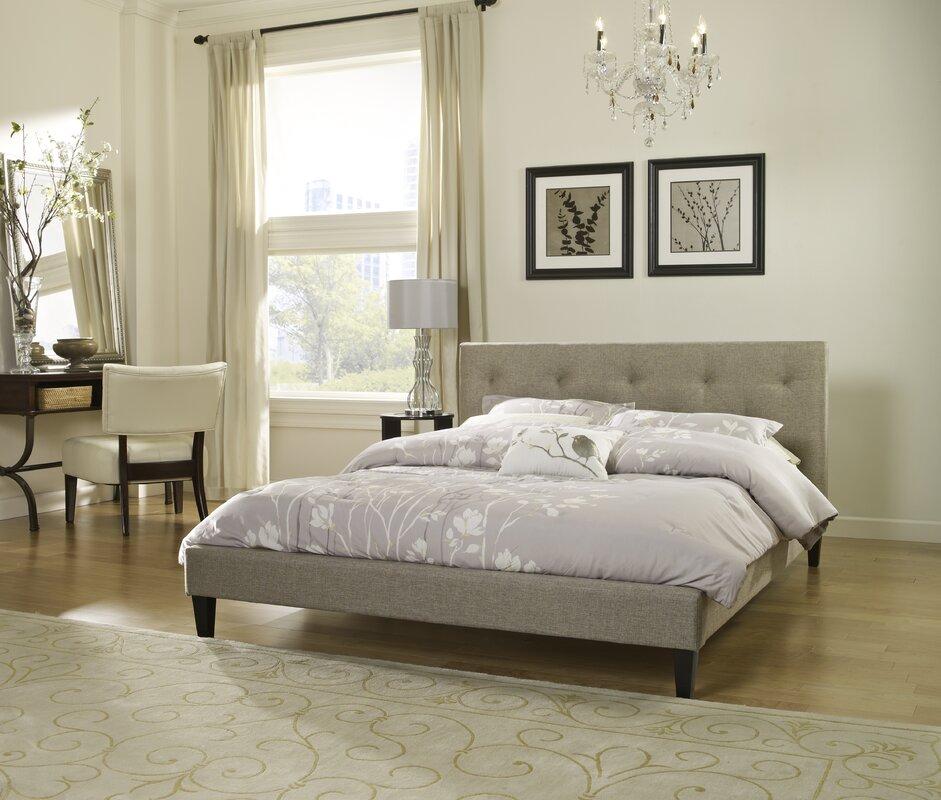 Boxford Upholstered Platform Bed