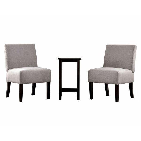 Coralvine 3 Piece Slipper Chair Set By Red Barrel Studio