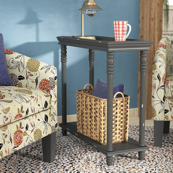 Cedarton Accent End Table by August Grove