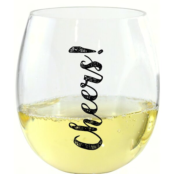 Beemer Cheers! 10 oz. Wine Tumbler by Winston Porter