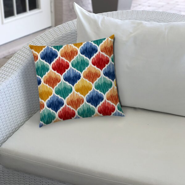 Daria Outdoor Square Pillow Cover & Insert