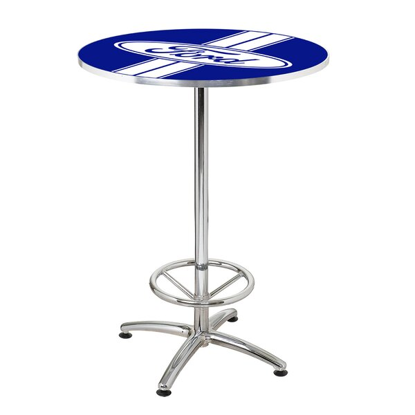 27 Round Ford Stripes Cafe Table by Ford