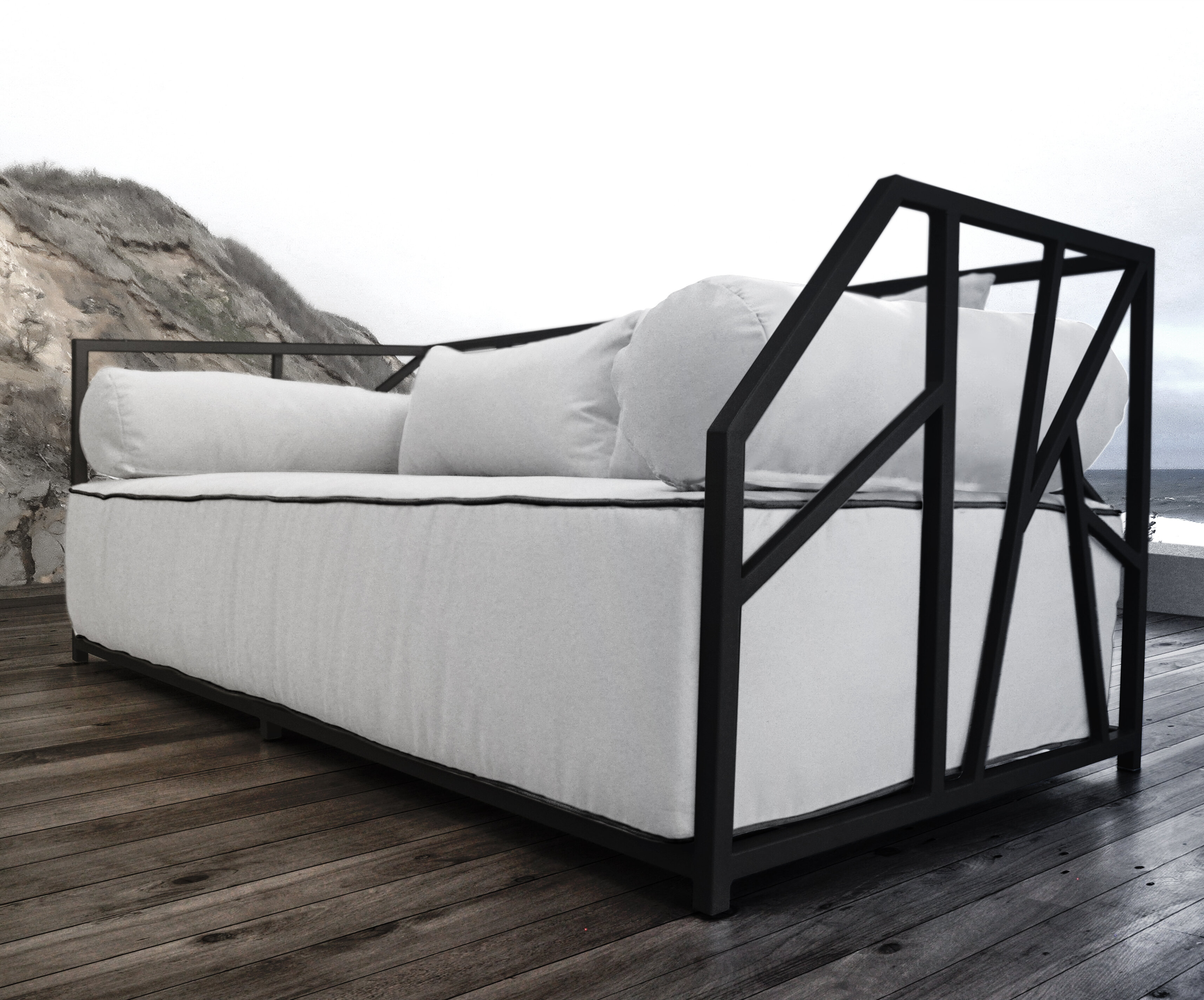 contract luxury elana hospitality daybed furniture couture outdoor loveseat hotels love product woven pool spas rope patio seat stellar