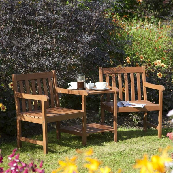 Hampton Companion 3 Piece Dining Set by Rowlinson