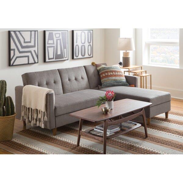 Admirable Modern Contemporary Light Gray Sectional Allmodern Andrewgaddart Wooden Chair Designs For Living Room Andrewgaddartcom
