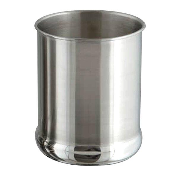 Cylinder Polished Utensil Crock by Rebrilliant