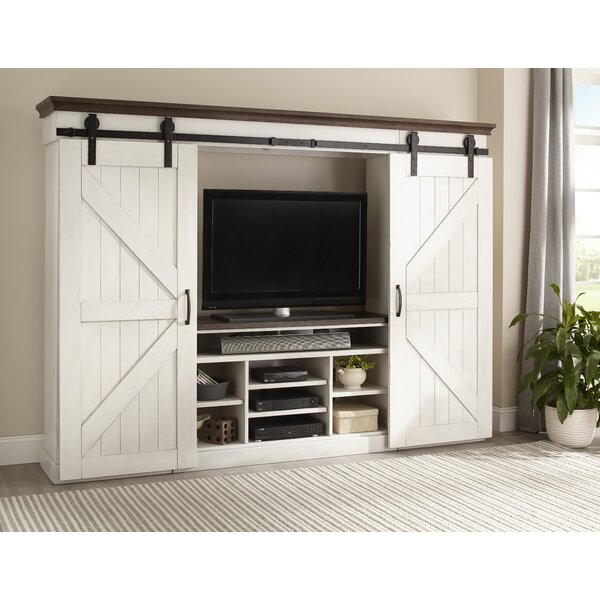 Patenaude Entertainment Center (Set of 6) by August Grove
