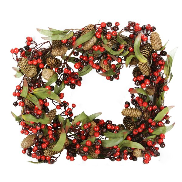 20 Pine Cone and Berry Artificial Christmas Wreath by Northlight Seasonal