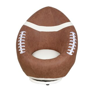 Football Kids Swivel Chair