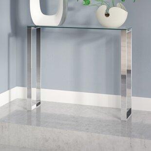 Irina Narrow Console Table by Orren Ellis