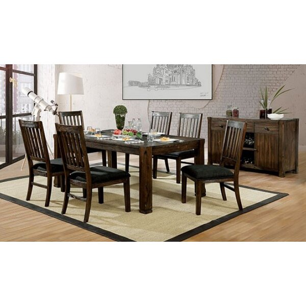 Delvale 7 Piece Solid Wood Dining Set by Foundry Select Foundry Select