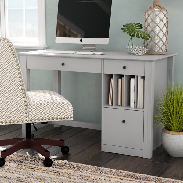 Clinton Desk by Beachcrest Home
